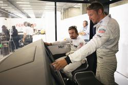 Jenson Button and Fernando Alonso, McLaren MP4-30