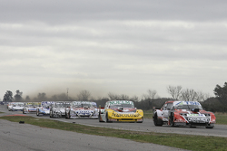Jose Manuel Urcera, JP Racing Torino and Nicolas Bonelli, Bonelli Competicion Ford and Camilo Echeva