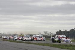 Juan Martin Trucco, JMT Motorsport Dodge dan Pedro Gentile, JP Racing Chevrolet dan Norberto Fontana
