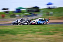 Rick Kelly, Nissan Motorsports and Nick Percat, Lucas Dumbrell Motorsport Holden