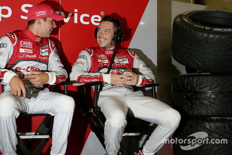 Benoit Tréluyer und Andre Lotterer, Audi Sport Team Joest