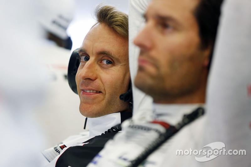 Timo Bernhard und Mark Webber, Porsche Team