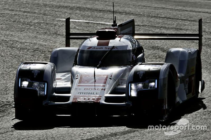 #7 Audi Sport Team Joest Audi R18 e-tron quattro: Marcel Fässler, Andre Lotterer, Benoit Tréluyer