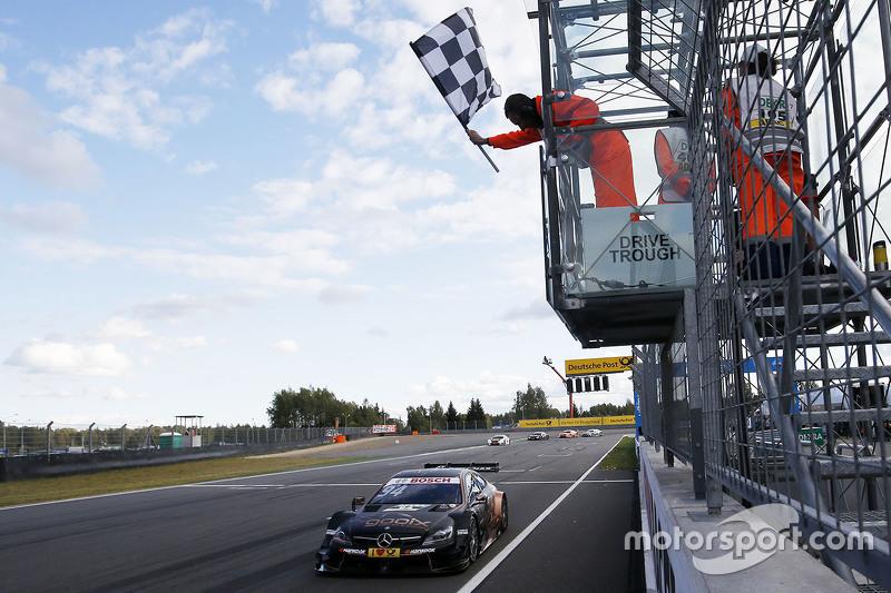 Паскаль Верляйн, HWA AG Mercedes-AMG C63 DTM перемагає