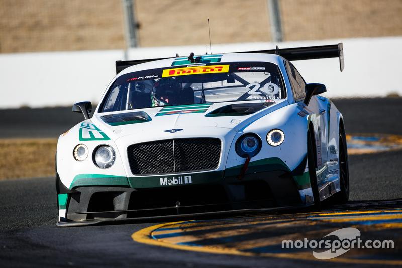 #20 Bentley Team Dyson Racing Bentley Continental GT3: Guy Smith