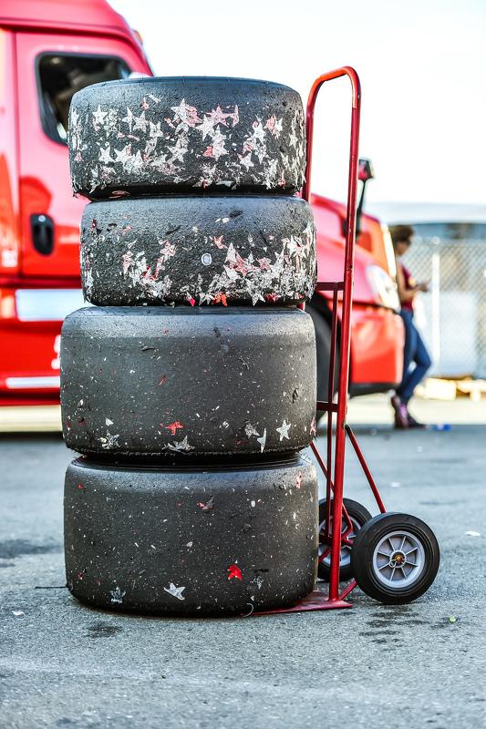 Les pneus Firestone du champion