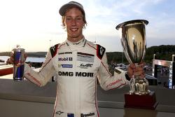 Race winner Brendon Hartley, Porsche Team