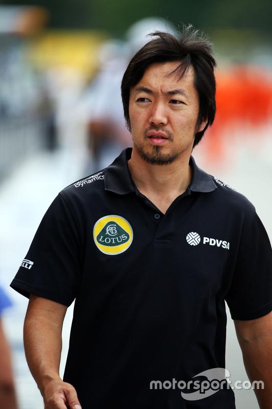 Ayao Komatsu, Lotus F1 Team engenheiro