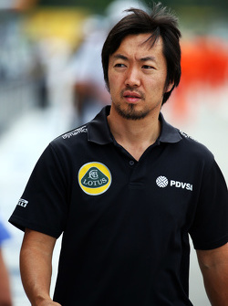 Ayao Komatsu, Lotus F1 Team Race Engineer