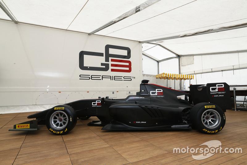 Präsentation Dallara GP3-16