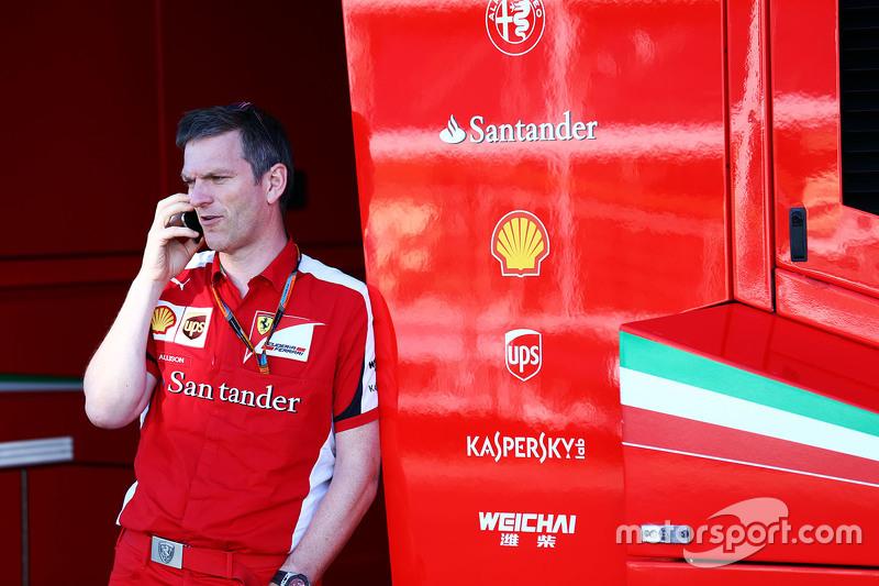 James Allison (GBR) Ferrari Chassis Technical Director