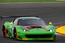 #333 Rinaldi Racing Ferrari 458 İtalya: Marco Seefried, Norbert Siedler