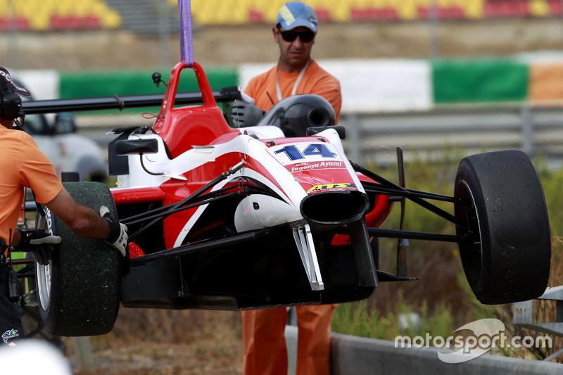 Matthew Rao, Fortec Motorsports Dallara Mercedes-Benz