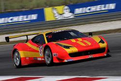 #37 BBT Ferrari 458 GT3: Anthony Liu, Davide Rizzo