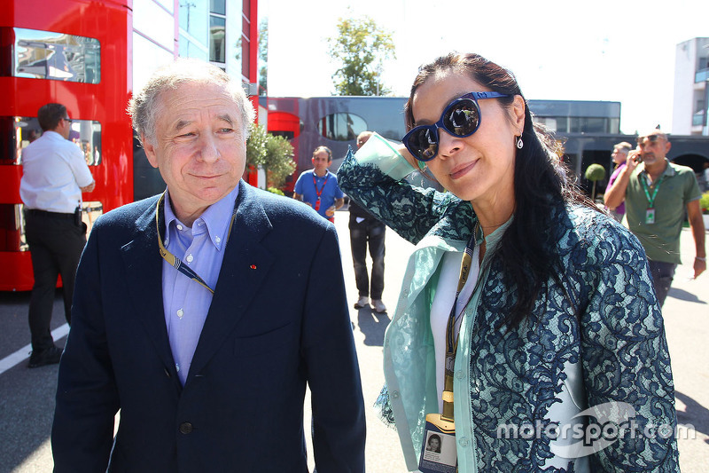 Jean Todt, FIA-Präsident, mit Frau Michelle Yeoh