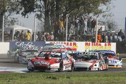 Matias Rossi, Donto Racing Chevrolet y Norberto Fontana, Laboritto Jrs Torino y Christian Ledesma, J