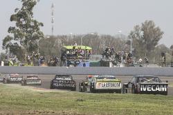 Norberto Fontana, Laboritto Jrs Torino e Agustin Canapino, Jet Racing Chevrolet e Emanuel Moriatis, Alifraco Sport Ford