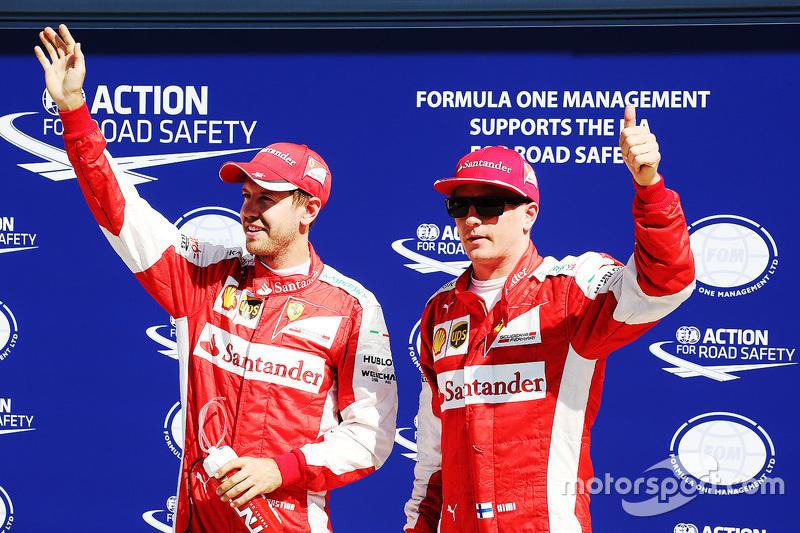 Ferrari, 2015: Kimi Raikkonen e Sebastian Vettel