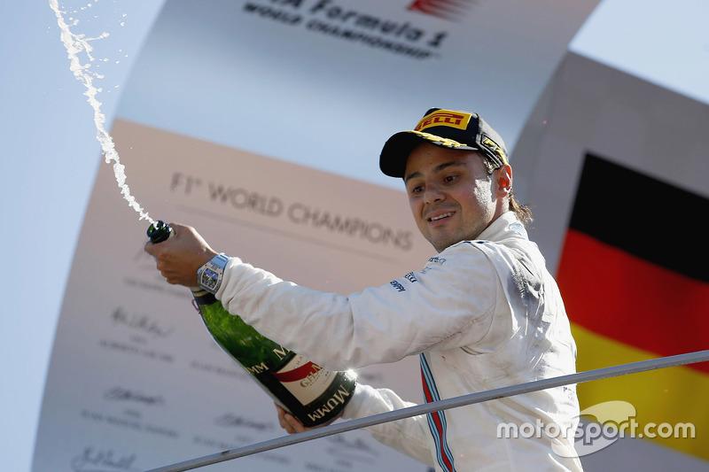 Podium: 3. Felipe Massa, Williams