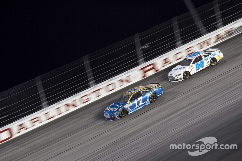 Ricky Stenhouse Jr., Roush Fenway Racing Ford and Josh Wise