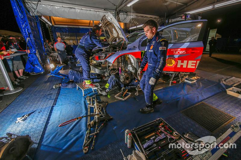 Hyundai Motorsport, Teambereich