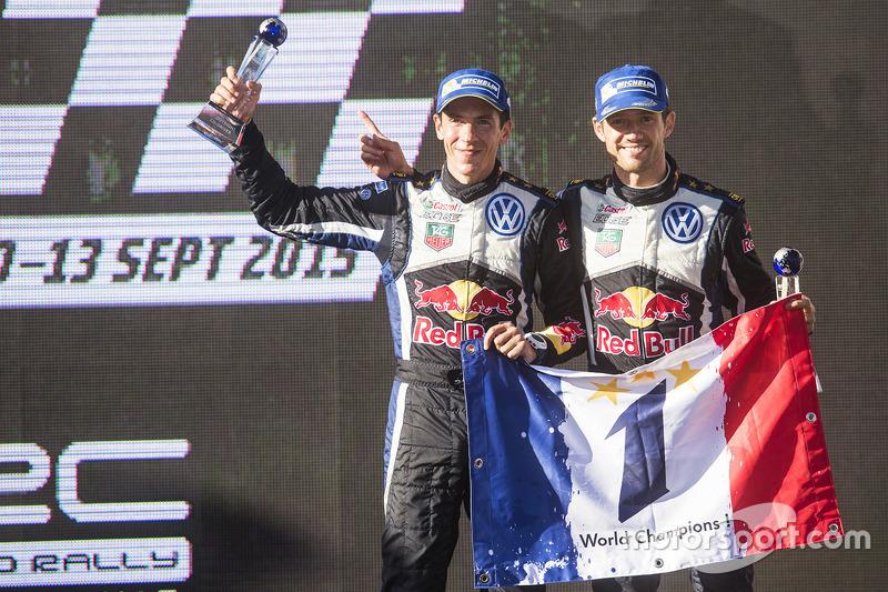 WRC: Sebastien Ogier (Franrijk) en Julien Ingrassia (Frankrijk)