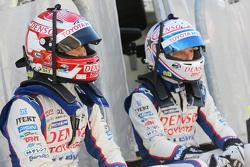 Kazuki Nakajima y Anthony Davidson, Toyota Racing