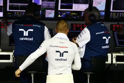Valtteri Bottas, Williams op de pitmuur