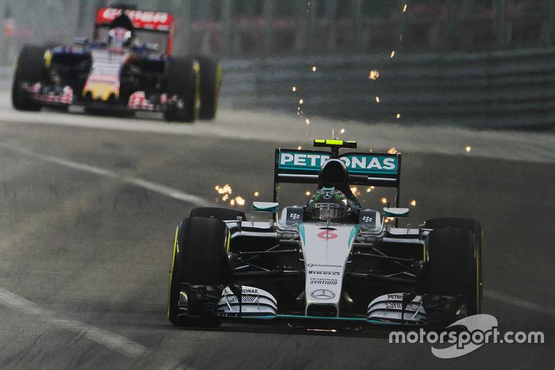 F1, Singapur 2015: Nico Rosberg, Mercedes F1 W06