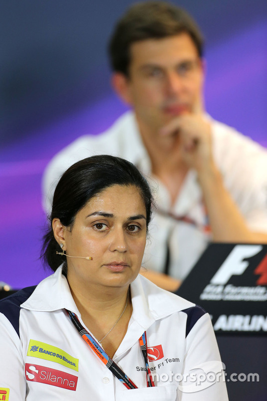 Monisha Kaltenborn, Teamchefin Sauber F1 Team
