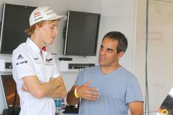 Brendon Hartley, Porsche Team et Juan Pablo Montoya