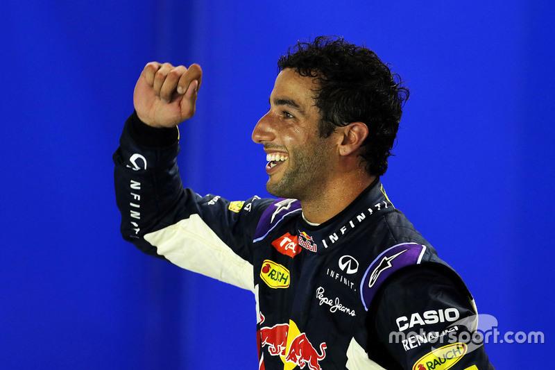 Segundo Daniel Ricciardo, Red Bull Racing