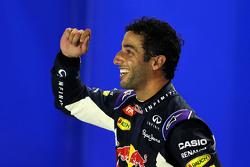 Segundo lugar de la clasificación Daniel Ricciardo, Red Bull Racing