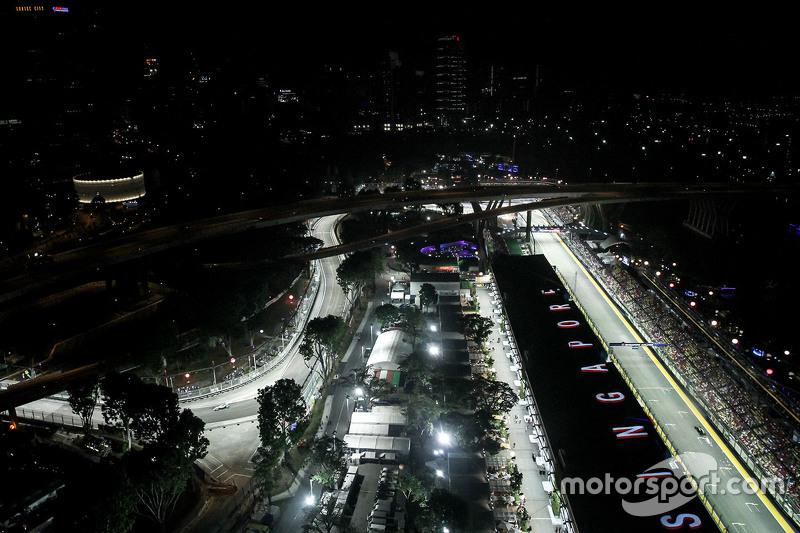 Motorsport-Action im malerischen Singapur