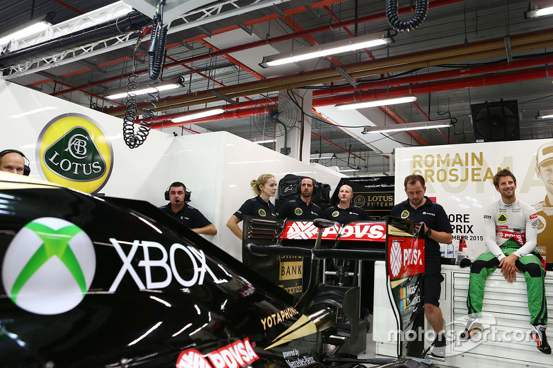 Romain Grosjean, Lotus F1 E23, mitXbox-Overall
