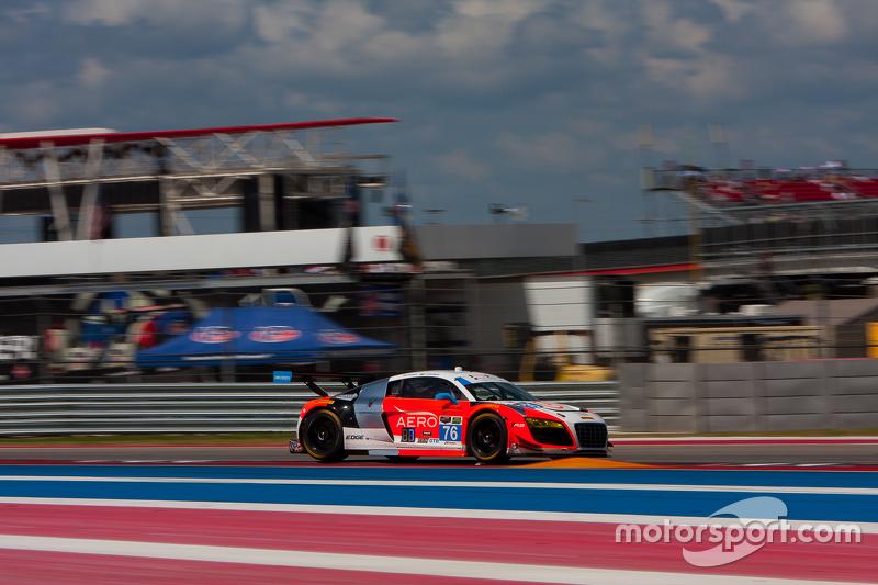 #76 Compass 360 Racing Audi R8 LMS: Ray Maсин, Pierre Kleinubing