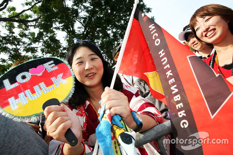 Nico Hulkenberg, Sahara Force India F1 fans
