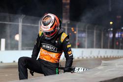 Nico Hulkenberg, Sahara Force India F1 chocado fuera de la carrera