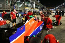 Alexander Rossi, Manor F1 Team op de grid