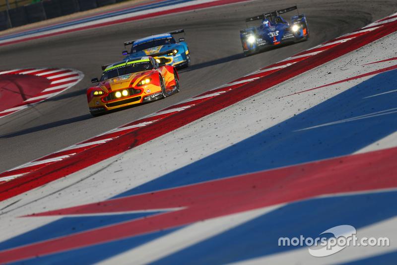 #97 Aston Martin Racing Aston Martin Vantage GTE: Darren Turner, Jonathan Adam