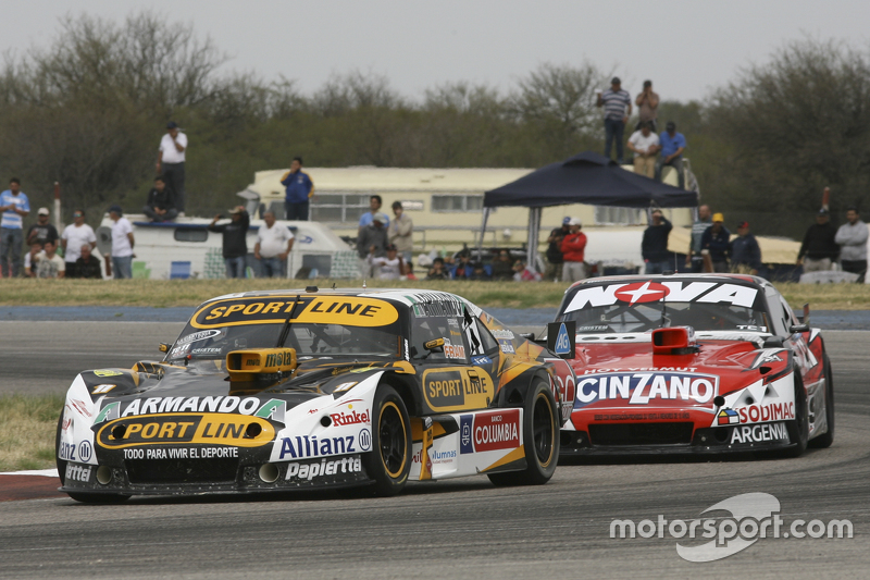 Leonel Pernia, Las Toscas Racing Chevrolet and Matias Rossi, Donto Racing Chevrolet