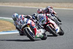 Sylvain Guintoli, Pata Honda y Niccolo Canepa, Althea Racing
