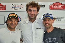 Conferenza Stampa: Paolo Andreucci, Peugeot Sport Italia, Giandomenico Basso, BRC, Umberto Scandola, Skoda Motorsport Italia