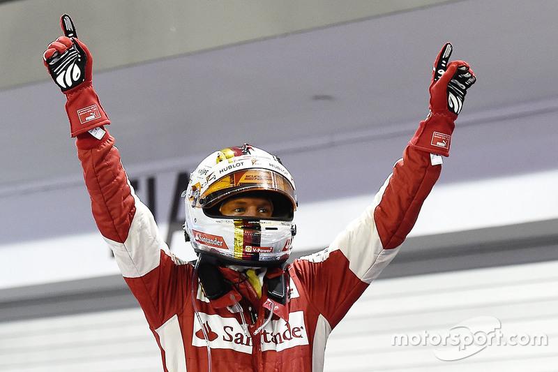 Себастьян Феттель – самый успешный пилот Ф1 в Сингапуре. На его счету 4 победы, 4 поула и 6 подиумов