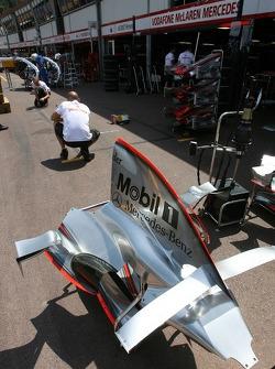 McLaren Mercedes, Engine cover
