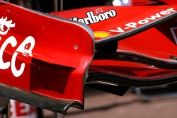 Scuderia Ferrari, front wing detail