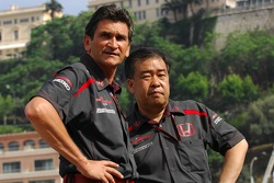 Jacky Eeckelaert, Honda Racing F1 Team, Chief Engineer ñ Advanced Research Programmes and Yashurio Wada, Honda Racing Development Ltd, President