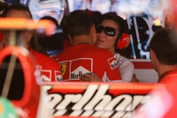 Michael Schumacher with Michelle Yeoh Girlfriend of Jean Todt