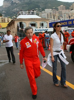 Jean Todt, Scuderia Ferrari, Ferrari CEO and Michelle Yeoh Girlfriend of Jean Todt