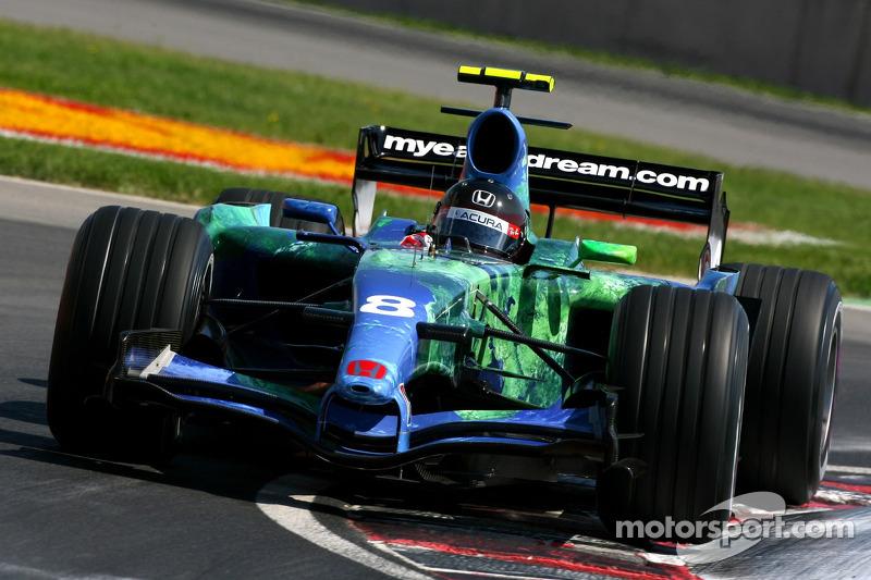 #8: Рубенс Баррікелло, Honda Racing F1 Team, RA107